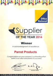 Supplier of the year - 2014