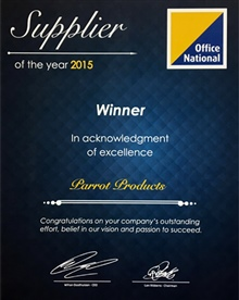 Supplier of the year - 2015