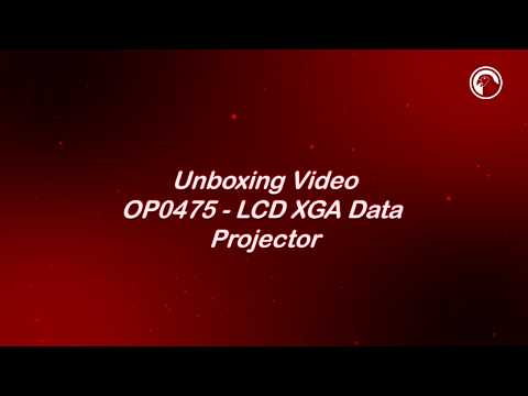 OP0475 Data Projector Unboxing Video