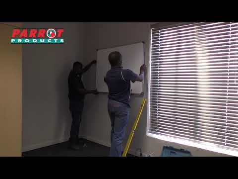 Parrot Products (Pty) Ltd - Whiteboard Installation Video