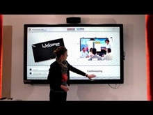 Parrot Interactive showcasing multi-touch on the Parrot LED Panels