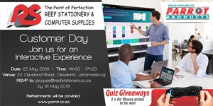 Customer Day Johannesburg - 22 May 2018