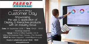 Customer Day Port Elizabeth - 26 September 2018