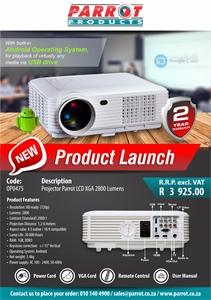 New Projector LCD XGA Product Launch