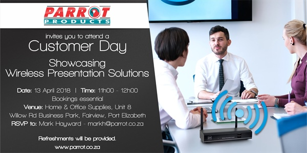 Customer Day Port Elizabeth - 13 April 2018