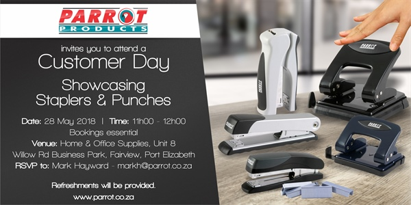 Customer Day Port Elizabeth - 28 May 2018