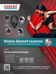Parrot's Wireless Bluetooth Earphones