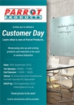 Parrot Products is hosting Customer Days - Bloemfontein