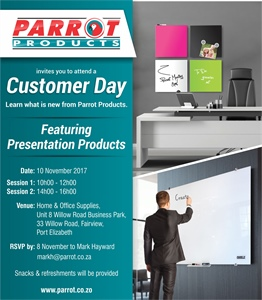 Customer Day - Port Elizabeth 10 November 2017