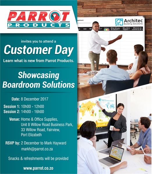 Customer Day - Port Elizabeth 8 December 2017