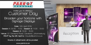 Customer Day Johannesburg - 12th April 2019