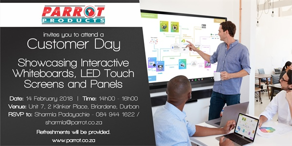 Customer Day Durban - 14 February 2018