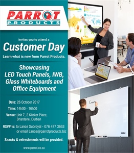 Customer Day - Durban 26 October 2017