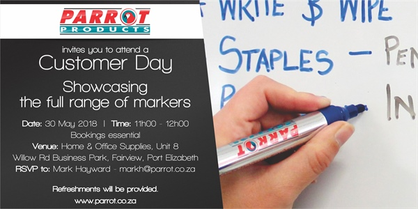 Customer Day Port Elizabeth - 30 May 2018