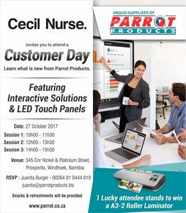 Cecil Nurse Customer Day - Namibia 27 October 2017