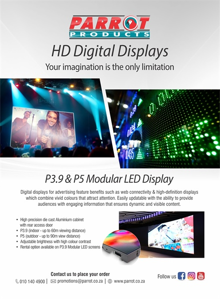 HD Digital Displays - Your imagination is the only limitation