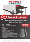 New Desk Clamp Partition Product Launch