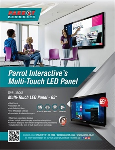 Parrot Interactive's Multi-Touch LED Panel