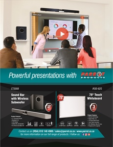 Powerful presentations with Parrot Products
