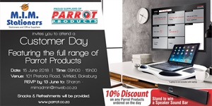 Customer Day Johannesburg - 15 June 2018