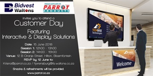 Customer Day Bloemfontein - 15 June 2018