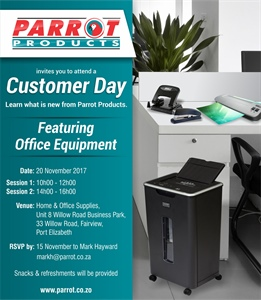 Customer Day - Port Elizabeth 20 November 2017