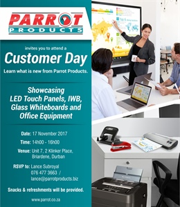 Customer Day - Durban 17 November 2017