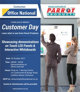 Customer Day Office National Centurion - 26 October 2017