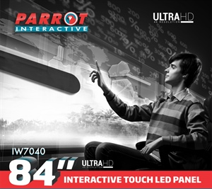 "84"" UHD Interactive LED Panel"
