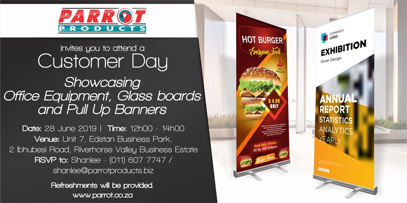 Customer Day Durban - 28th June 2019