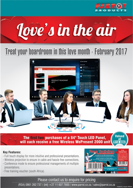Parrot Interactive - Love's in the air