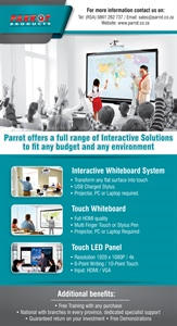 Parrot Products - Interactive Solutions