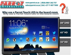 Why choose a Parrot Products Touch LED for your board room?