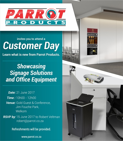 Customer Day - Showcasing Signage and Office Solutions