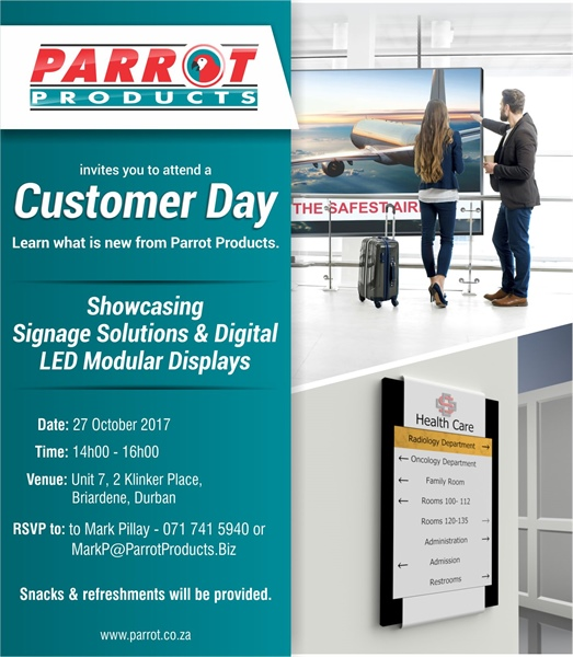 Customer Day - Durban 27 October 2017