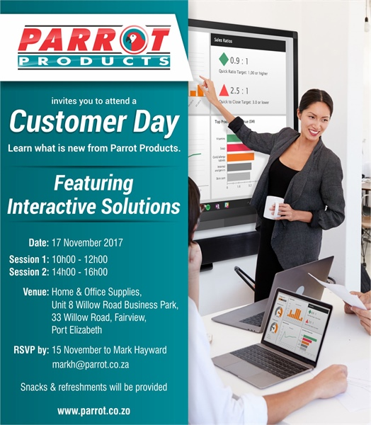Customer Day - Port Elizabeth 17 November 2017