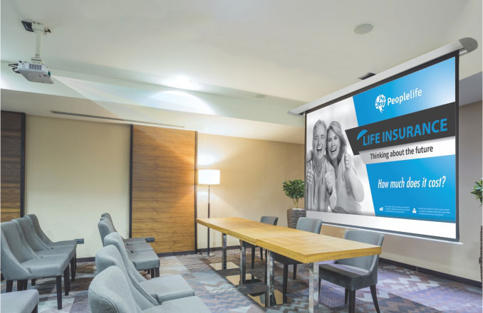 Projector Screens | Parrot Products (Pty) Ltd