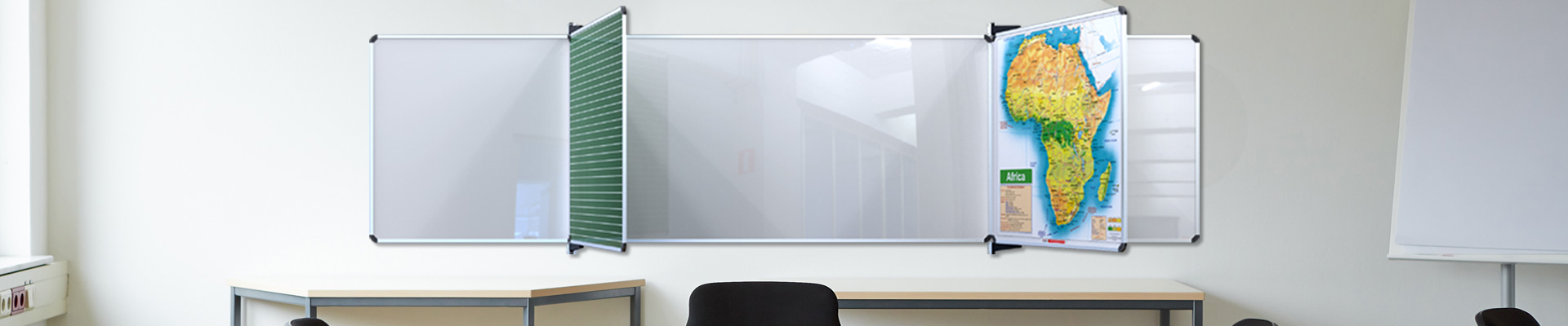 Educational Boards in Classroom