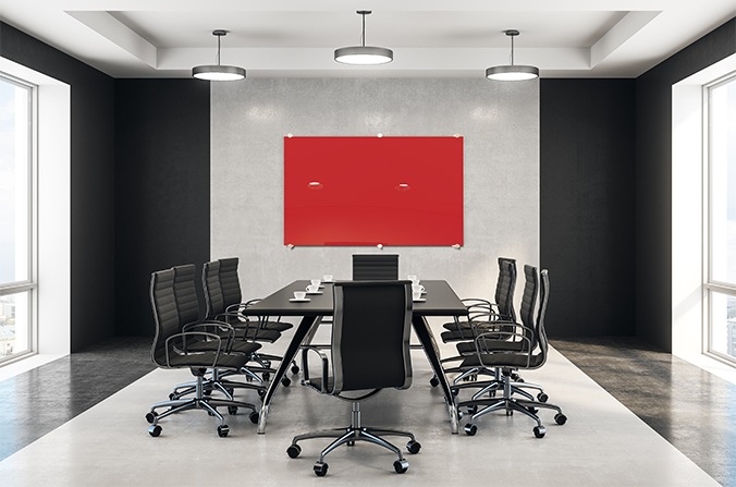 Glass Whiteboard Boardroom