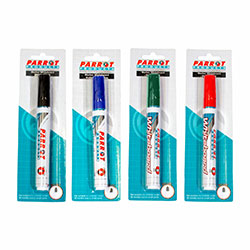 Single Carded Whiteboard Markers