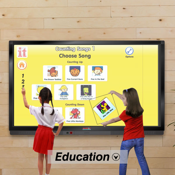 School Multi-Touch LED