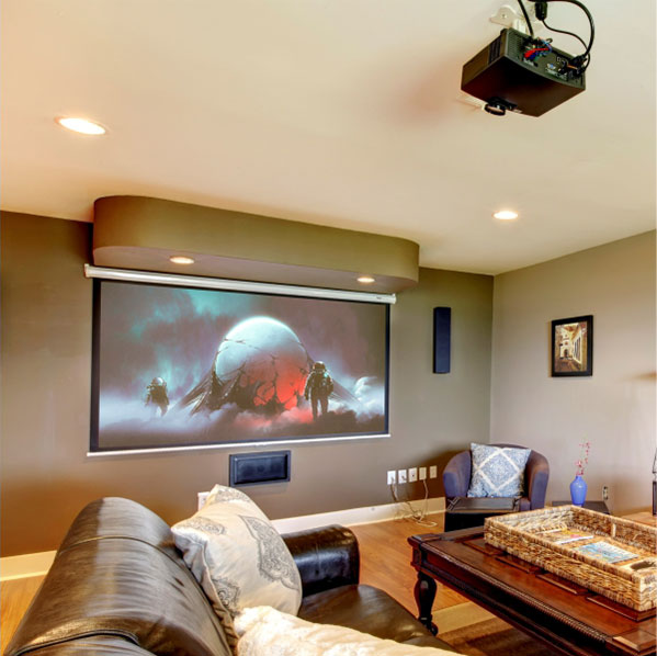 Parrot Home Theatre Projector Screen