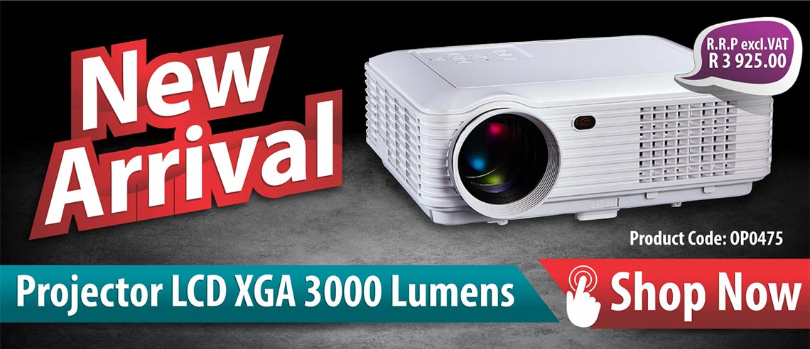 Introducing our new OP0475 Parrot LCD XGA Projector
