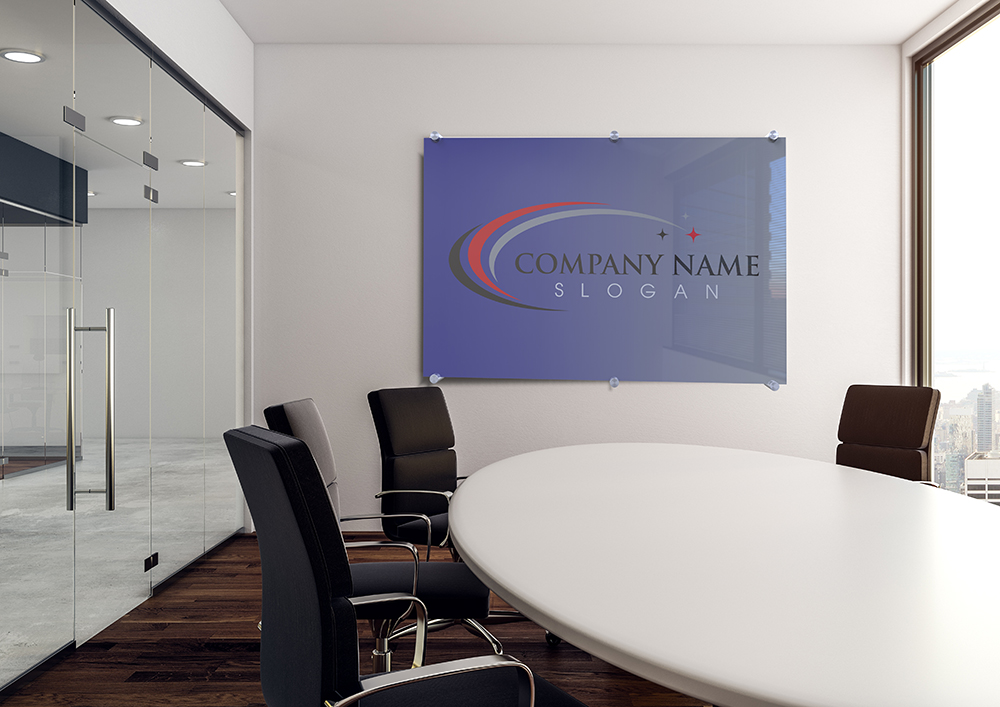 Glass Whiteboard in Boardroom Somatology